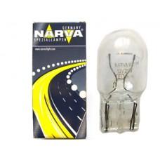 Лампа автомобильная Narva W21W W3x16d