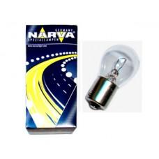 Лампа автомобильная Narva P21W 12V BA15s