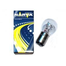 Лампа автомобильная Narva P21/5W BAY15d