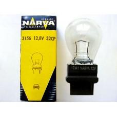 Лампа автомобильная Narva P27W W2.5x16d
