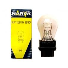 Лампа автомобильная Narva P27/7W W2.5x16q